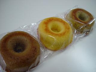 室蘭母恋「モンパリ」さん豆乳焼ドーナツ