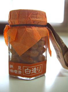 道南平塚食品さん 味噌漬け納豆