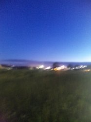 ゆめみの丘 夜の風景